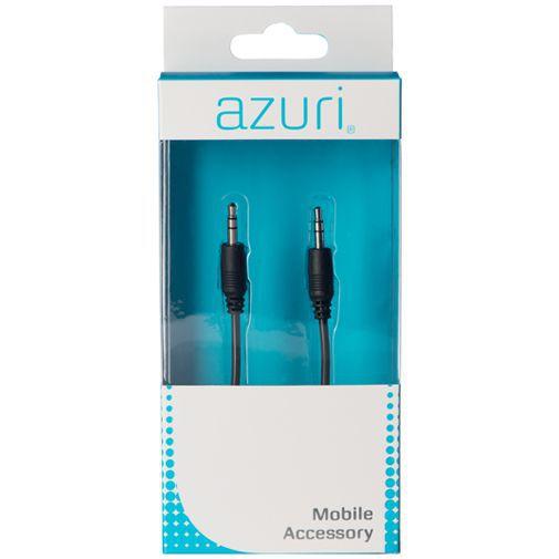 Productafbeelding van de Azuri 3.5mm naar 3.5mm Audio Kabel Zwart