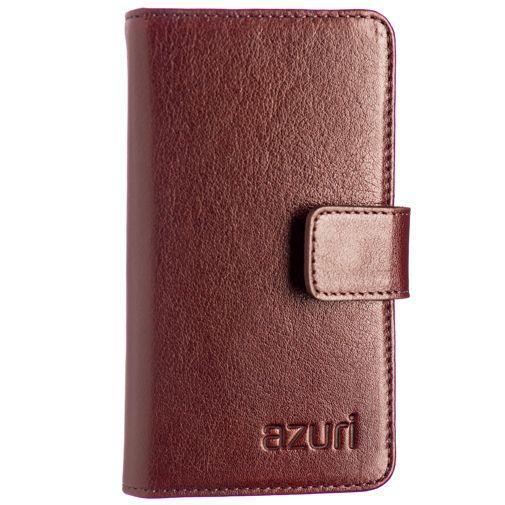 Productafbeelding van de Azuri Wallet Light Brown iPhone 4/5