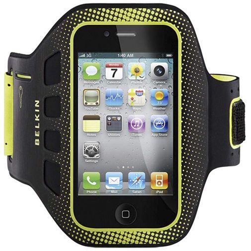Productafbeelding van de Belkin EaseFit Sport Armband Apple iPhone 4/4S