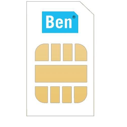 Productafbeelding van de Ben Prepaid Sim Pakket