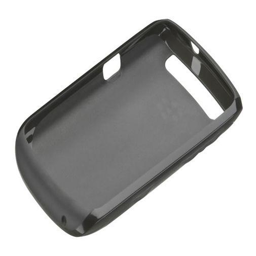 Productafbeelding van de BlackBerry Soft Shell Black Curve 9360