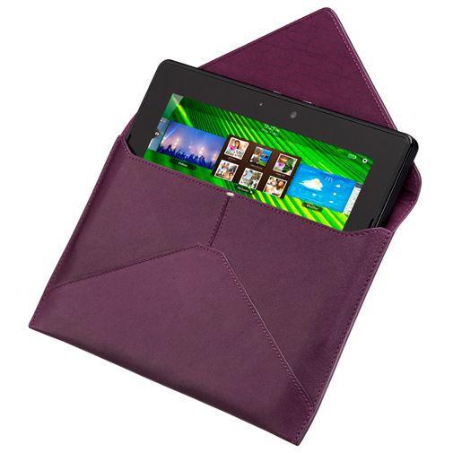 Productafbeelding van de BlackBerry Leather Envelope Purple Playbook