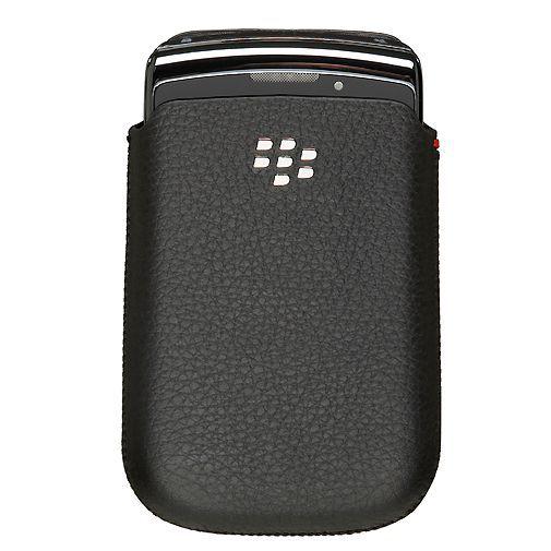 Productafbeelding van de BlackBerry Leather Pocket Black 9860