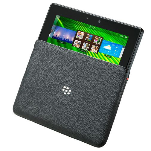 Productafbeelding van de BlackBerry Leather Sleeve Playbook Black