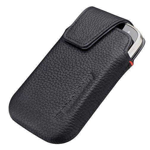 Productafbeelding van de BlackBerry Leather Swivel Holster Bold 9900