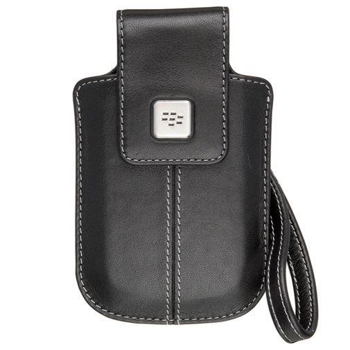 Productafbeelding van de BlackBerry Leather Tote Black 8520/9300/97xx