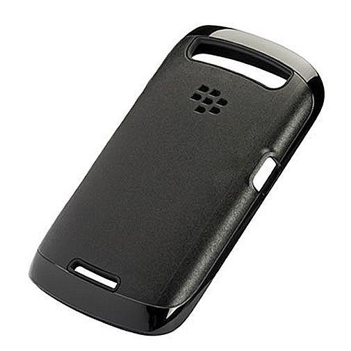 Productafbeelding van de BlackBerry Premium Skin Black Curve 9360