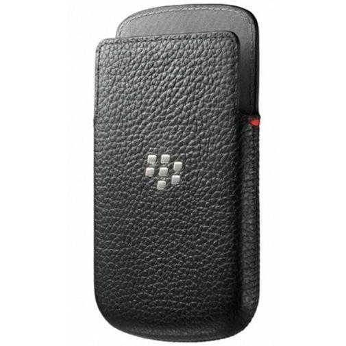 Productafbeelding van de BlackBerry Q10 Leather Pocket Black