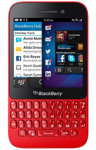 Productafbeelding van de BlackBerry Q5 Red