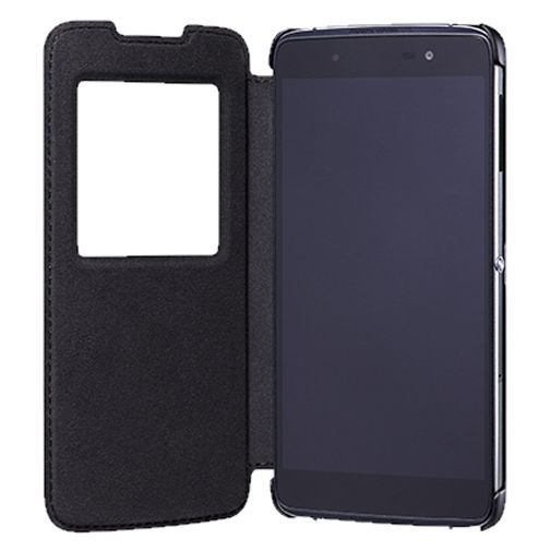 Productafbeelding van de BlackBerry Smart Flip Case Black DTEK50