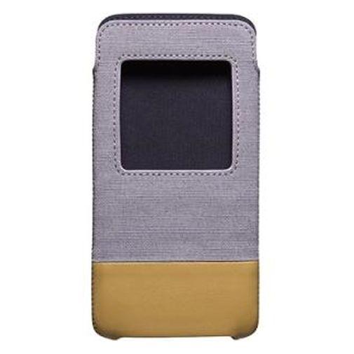 Productafbeelding van de BlackBerry Smart Pocket Grey Tan DTEK50