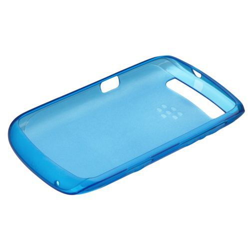 Productafbeelding van de BlackBerry Soft Shell Blue Curve 9360