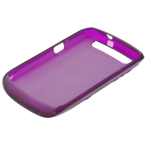 Productafbeelding van de BlackBerry Soft Shell Purple Curve 9360