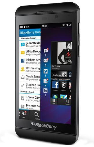 Productafbeelding van de BlackBerry Z10 Charcoal Black