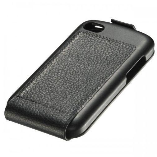 Productafbeelding van de BlackBerry Leather Flip Shell Q10 Black