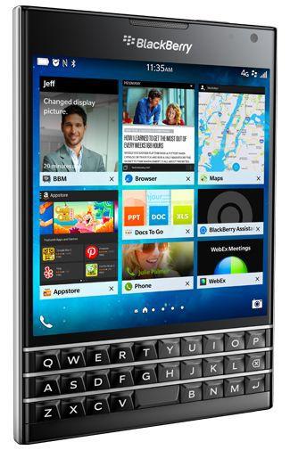 Productafbeelding van de BlackBerry Passport Black