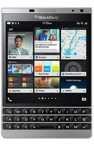 Productafbeelding van de BlackBerry Passport Silver Edition