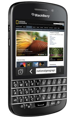Productafbeelding van de BlackBerry Q10 Black