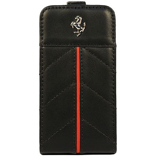 Productafbeelding van de CG Mobile Ferrari Flip Case Apple iPhone 5 Black Red