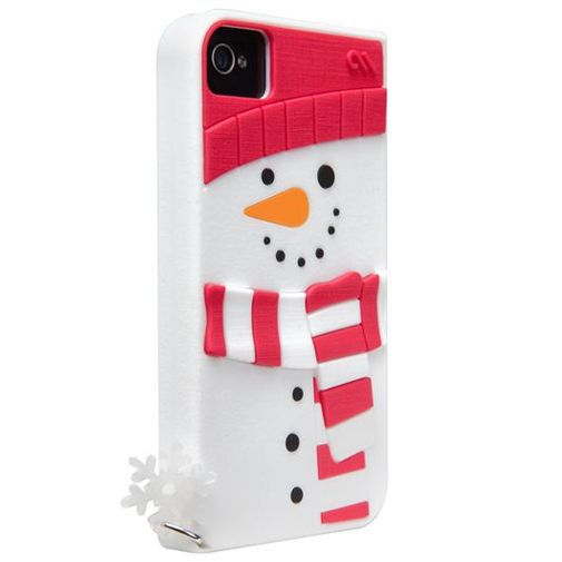 Productafbeelding van de Case Mate Apple iPhone 4/4S Creatures Snowman White