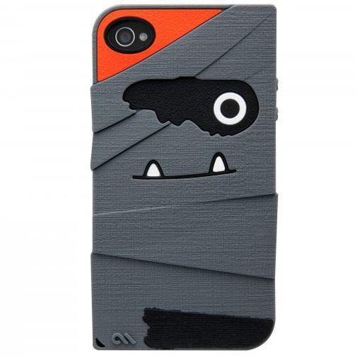 Productafbeelding van de Case Mate Apple iPhone 4/4S Creatures Tut Grey