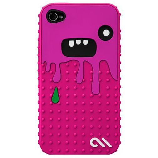 Productafbeelding van de Case Mate Apple iPhone 4 Creatures Monsta Pink