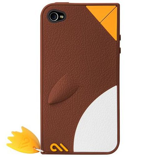 Productafbeelding van de Case Mate Apple iPhone 4 Creatures Waddler Brown