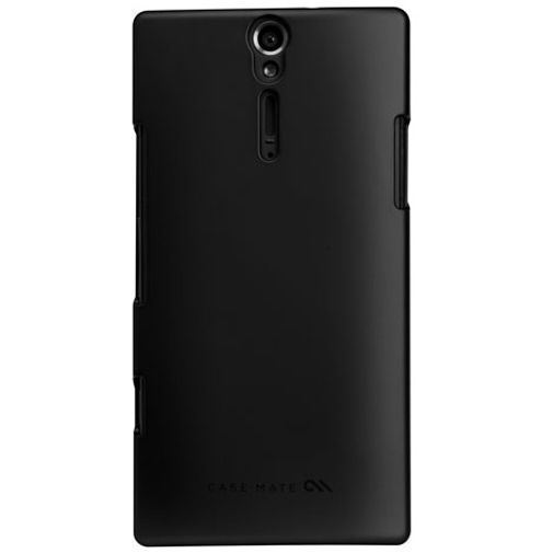Productafbeelding van de Case Mate Barely There Black Sony Xperia S