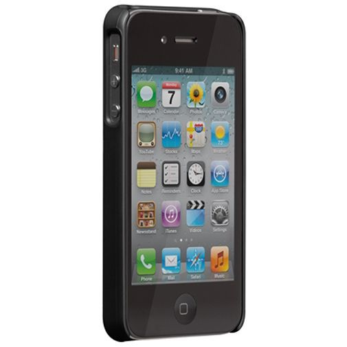 Productafbeelding van de Case Mate Barely There Black iPhone 4/4S