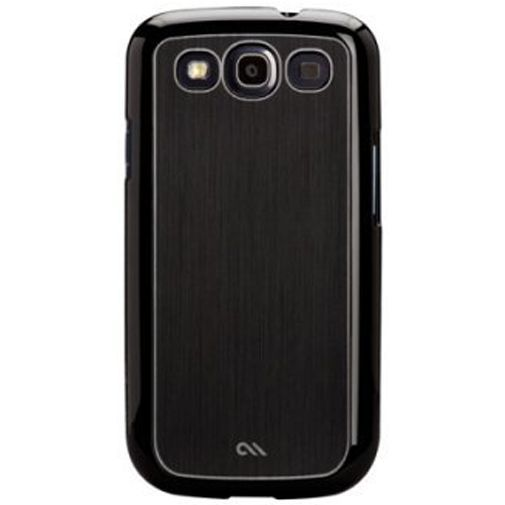 Productafbeelding van de Case-Mate Barely There Case Aluminium Black Samsung Galaxy S3 (Neo)