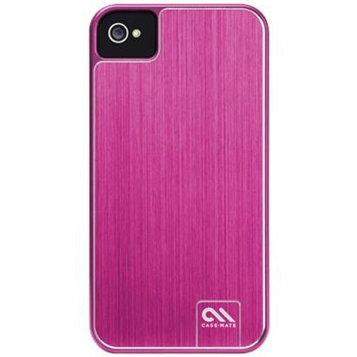 Productafbeelding van de Case-Mate Barely There Case Aluminium Pink Apple iPhone 4/4S