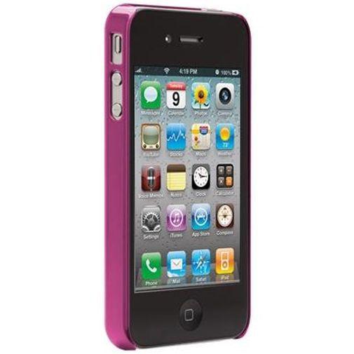 Productafbeelding van de Case-Mate Barely There Case Aluminium Pink Apple iPhone 4/4S