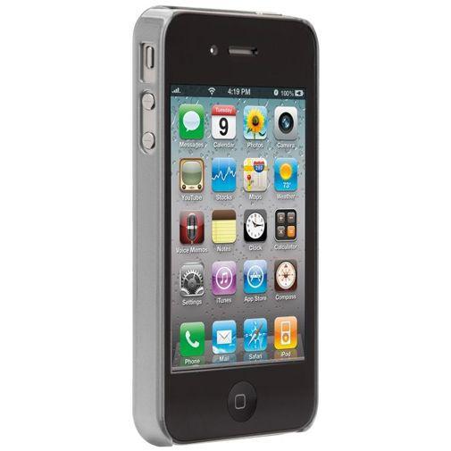 Productafbeelding van de Case-Mate Barely There Case Aluminium Platinum Apple iPhone 4/4S