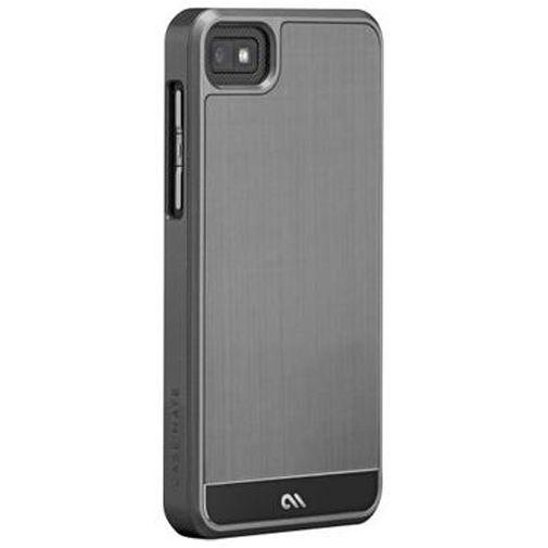 Productafbeelding van de Case-Mate Barely There Case Aluminium Silver Blackberry Z10