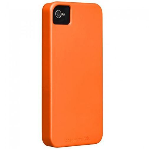 Productafbeelding van de Case-Mate Barely There Case Orange Apple iPhone 4/4S