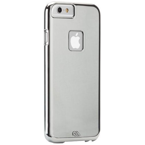 Productafbeelding van de Case-Mate Barely There Case Silver Apple iPhone 6/6S