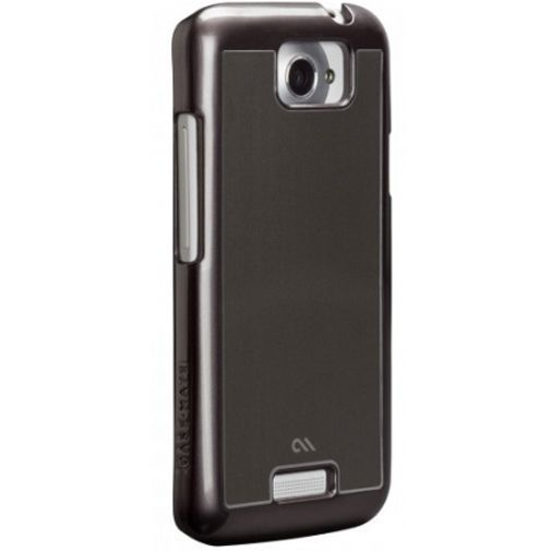 Productafbeelding van de Case-Mate Barely There HTC One X Brushed Alu Silver
