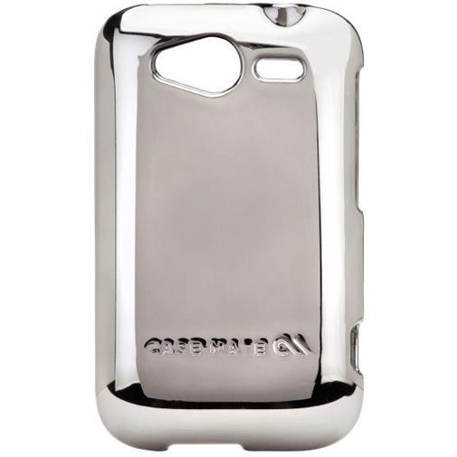 Productafbeelding van de Case Mate Barely There Metallic Silver HTC Wildfire  S
