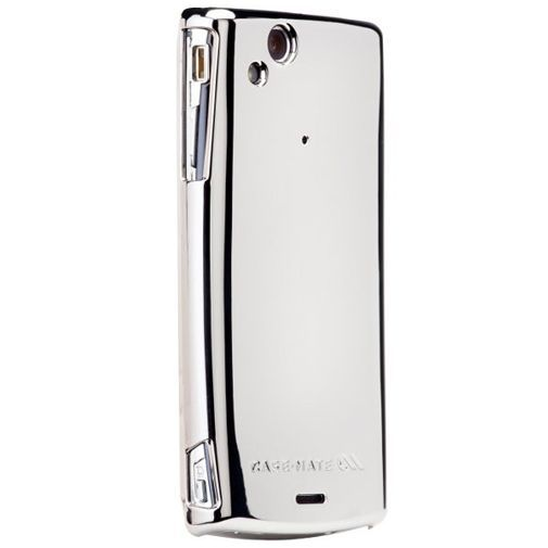Productafbeelding van de Case Mate Barely There Metallic Silver Sony Ericsson Xperia Arc