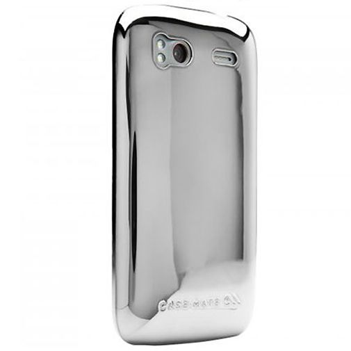Productafbeelding van de Case Mate Barely There Metallic Silver HTC Sensation