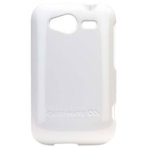 Productafbeelding van de Case Mate Barely There White Glossy HTC Wildfire S