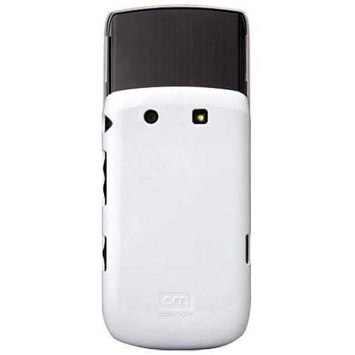 Productafbeelding van de Case Mate Barely There White Glossy BlackBerry Torch 9800