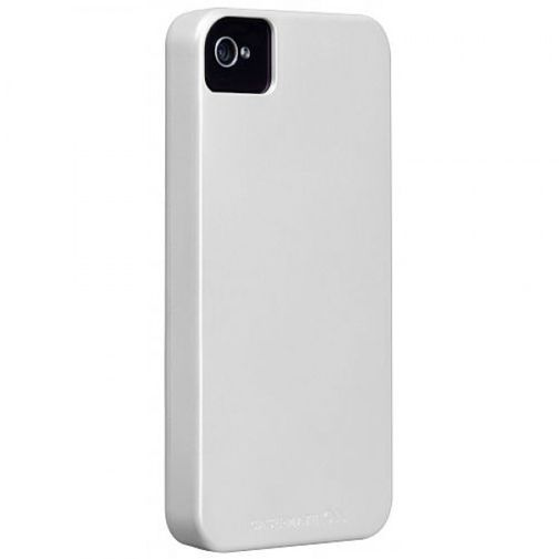 Productafbeelding van de Case Mate Barely There White Glossy iPhone 4