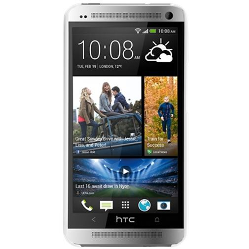 Productafbeelding van de Case-Mate Barely There White HTC One