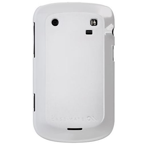 Productafbeelding van de Case Mate Barely There White Glossy BlackBerry Bold 9900/9930