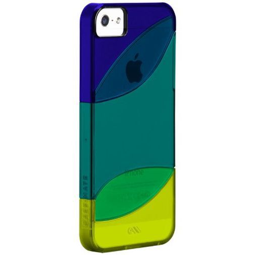 Productafbeelding van de Case-Mate Colorways Case Blue/Green Apple iPhone 5/5S/SE