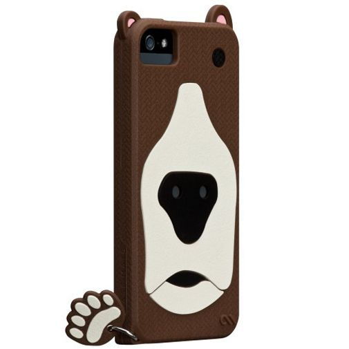 Productafbeelding van de Case-Mate Creatures Grizzly Apple iPhone 5/5S Brown