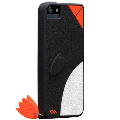 Productafbeelding van de Case-Mate Creatures Waddler Apple iPhone 5/5S Black