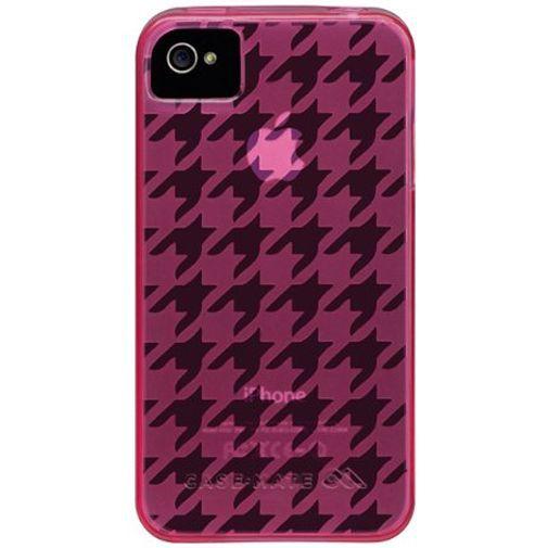 Productafbeelding van de Case-Mate Gelli Case Pink Apple iPhone 4/4S