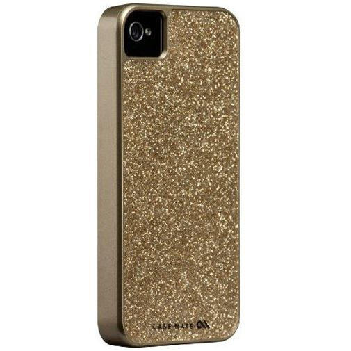 Productafbeelding van de Case-Mate Glam Case Gold Apple iPhone 4/4S
